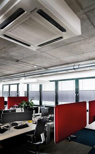 Office Frankfurt buchheister tube Sonnenschutz