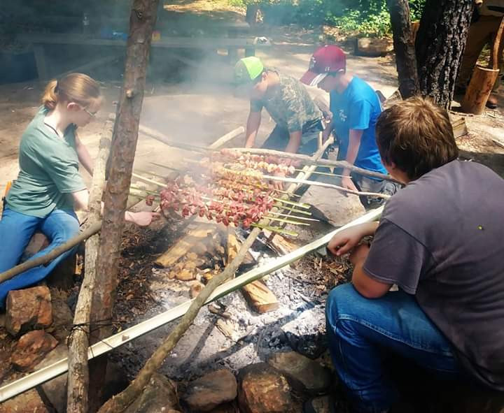 Youth Primitive Cook