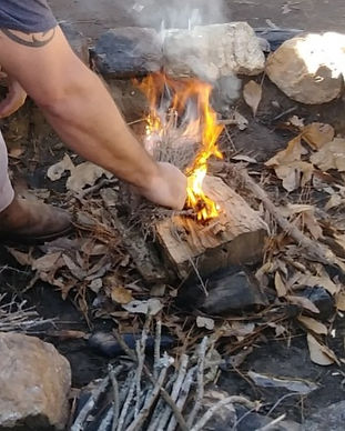 All Weather Fire Making - wilderness survival school in south carolina - popular courses and events in south carolina - cpr and first aid training near me - wilderness survival training near me