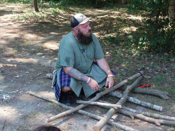 Bushcraft Chair Construction