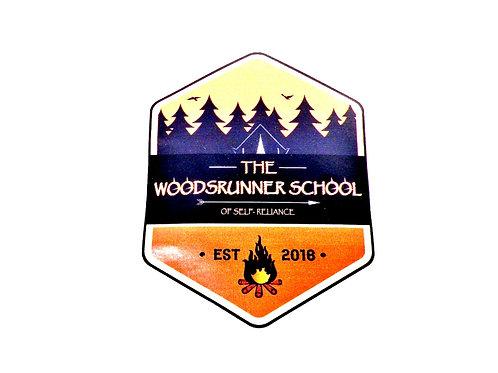 Woodsrunner Sticker - Large