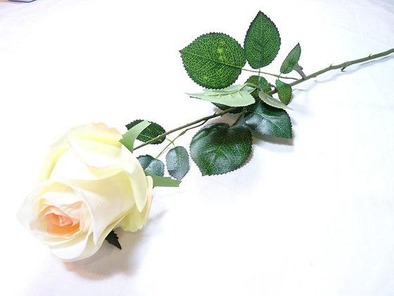 ROSE-BUD SINGLE PEACH WHITE 74CM/29IN