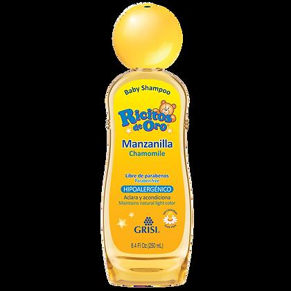 Ricitos de Oro Manzanilla Shampoo Bebé 250 mL