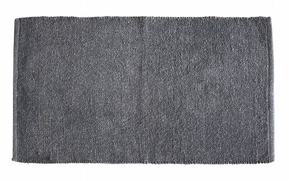 ALFOMBRA 60X110CM/24X44IN GRIS OSCURO