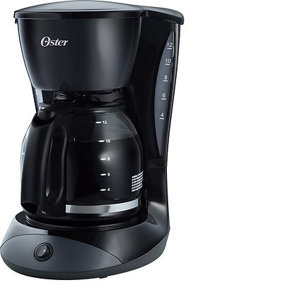 12-CUP SWITCH COFFEE MAKER BLACK