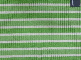 ALFOMBRA 55X85CM (22X33) VERDE CHENILLE