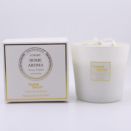 SCENTED CANDLE IN JAR 14X13CM/5X5IN