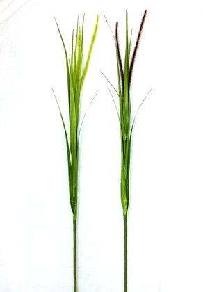 FOLLAJE TALL GRASS W/FLOCKED TAIL 60 PLG