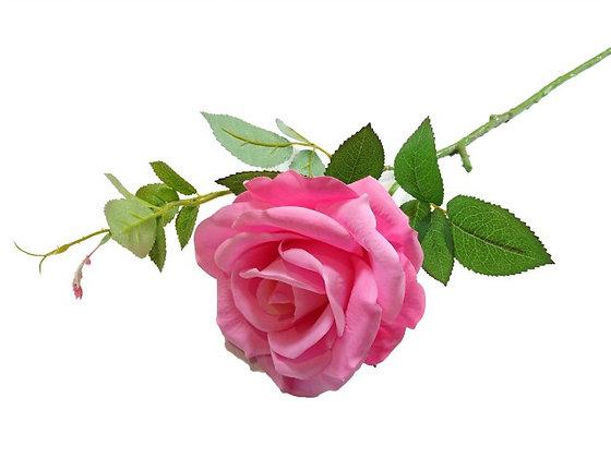 ROSE SPRAY PINK FUSHIA 66CM/26IN