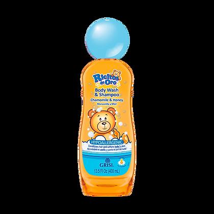 Body Wash/ Shampoo Manzanilla-Miel 400 ml