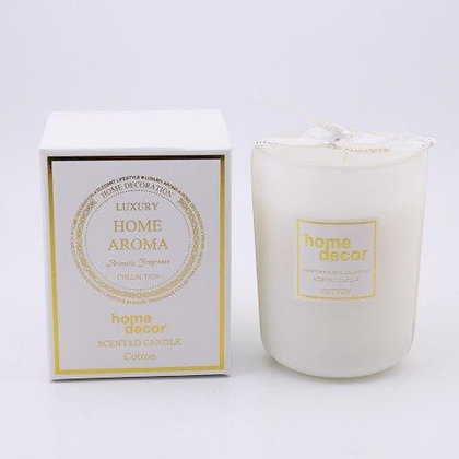 SCENTED CANDLE IN JAR 8.5X11CM/3X4IN