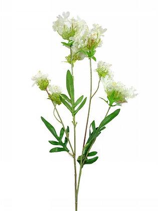 MINI FLOWER SPRAY X 4 WHITE 66CM/26IN
