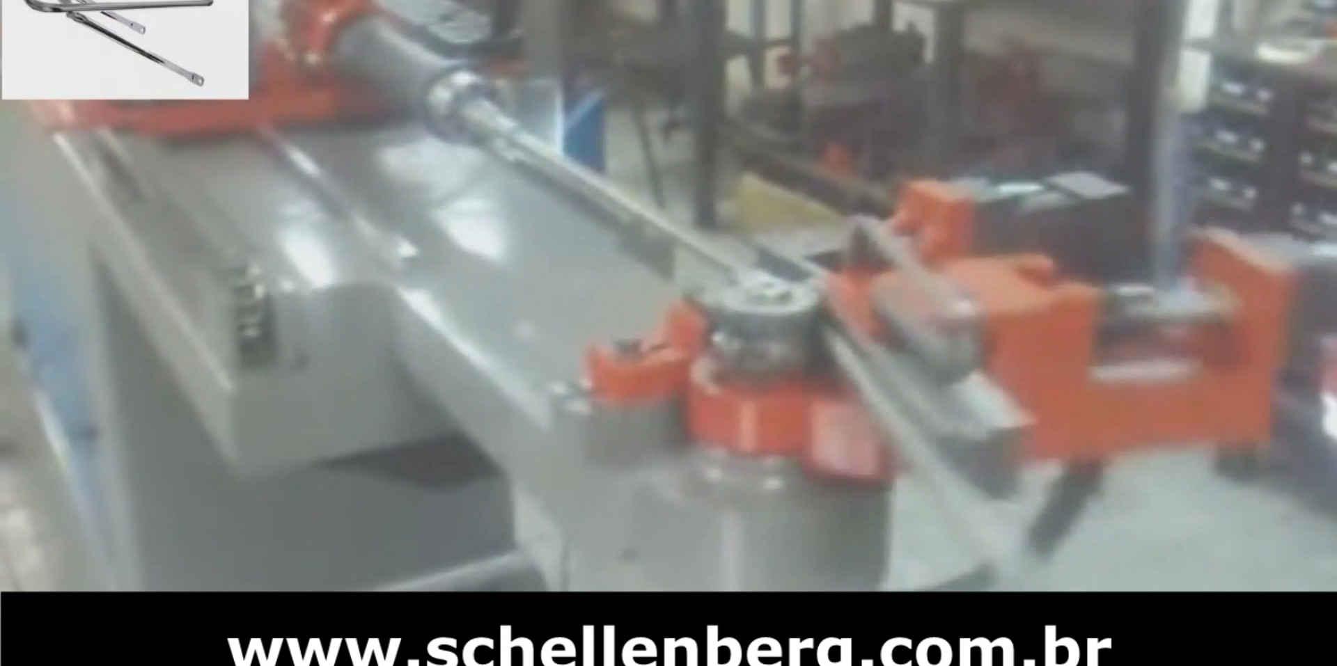 Curvadora de Tubos 3D CNC Hidráulica