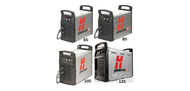 Fontes de Plasma Powermax 65 - 85 - 105 - 125 Hypertherm