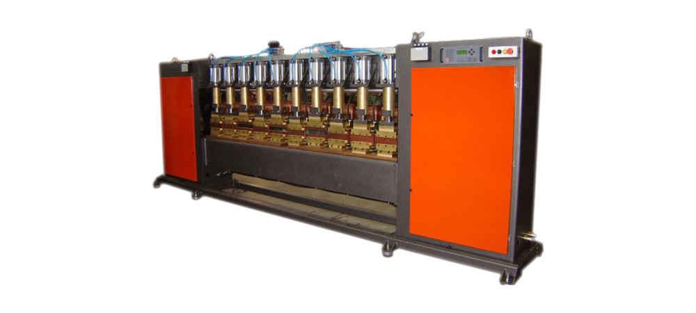 Solda por Resistênciia - Solda Projeção c/ 10 cilindros