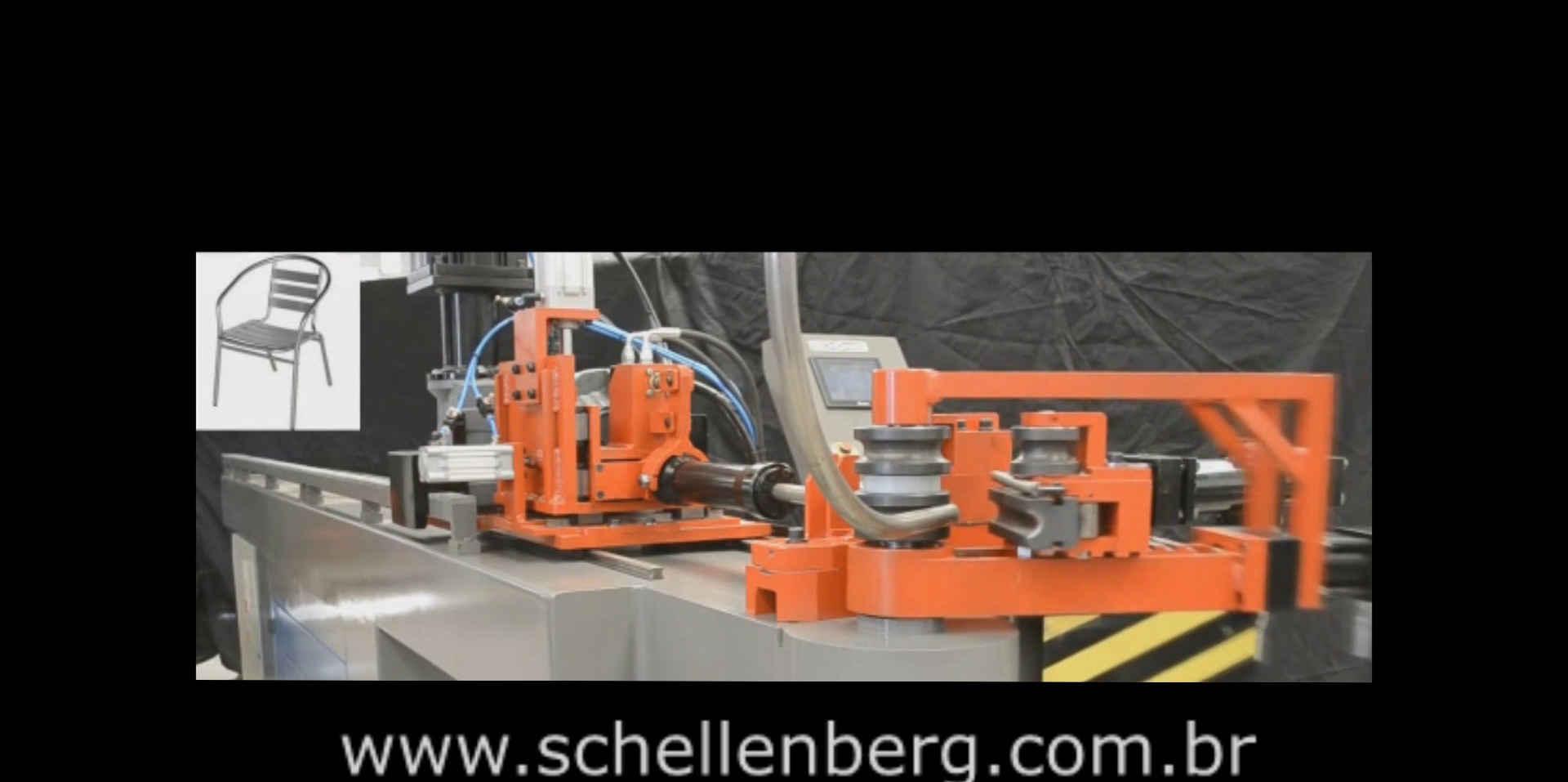Curvadora de Tubo 3D CNC C/ Calandragem