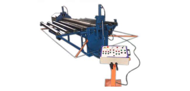 Calandra Hidráulica para Chapas de Aço 6,4 x 3050 mm