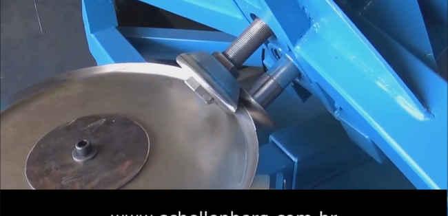 Rebordeadeira Para Chapas de Aço 6,35 mm