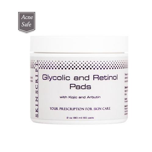Skin Script Glycolic and Retinol Pads (50 pads)