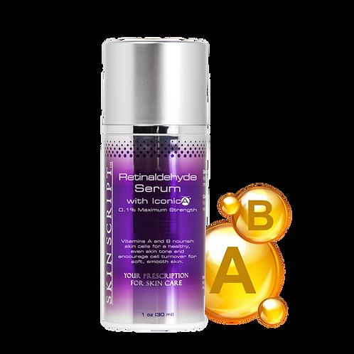 Skin Script Retinaldehyde Serum with IconicA - 1oz