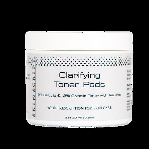 Skin Script Clarifying Toner Pads (50 pads)