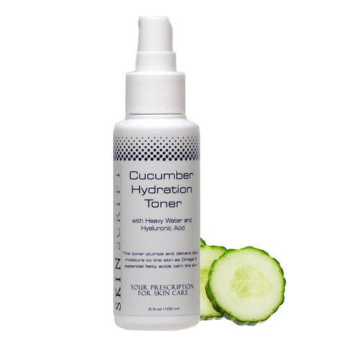 Skin Script Cucumber Hydration Toner - 3.3oz