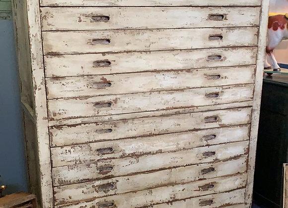 Vintage Bakery Dough Cabinet