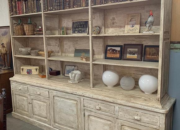 Large Antique Kitchen Cabinet or Bookcase-1920