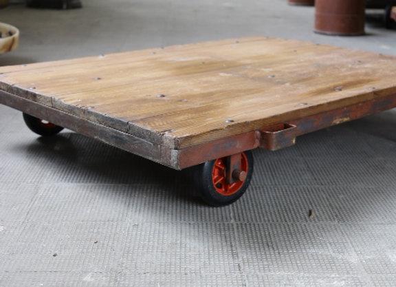 Center Table- Vintage Industrial Pallet 1950