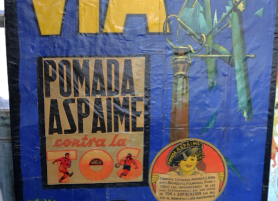 Collectible Poster- Pomada Aspaime Football- ORIGINAL