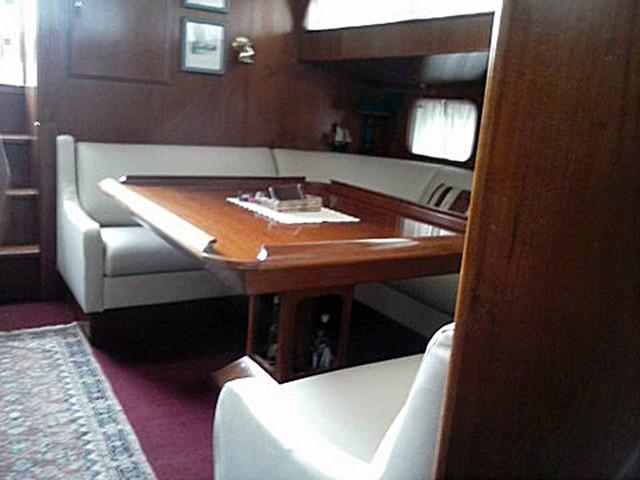 Copertura interna barca