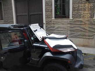49 Jeep Wrangler JK 5 porte borsa tett