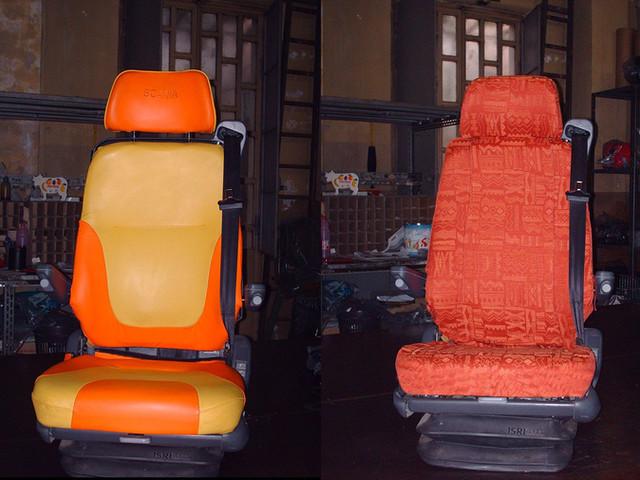 rivestimento sedile Scania