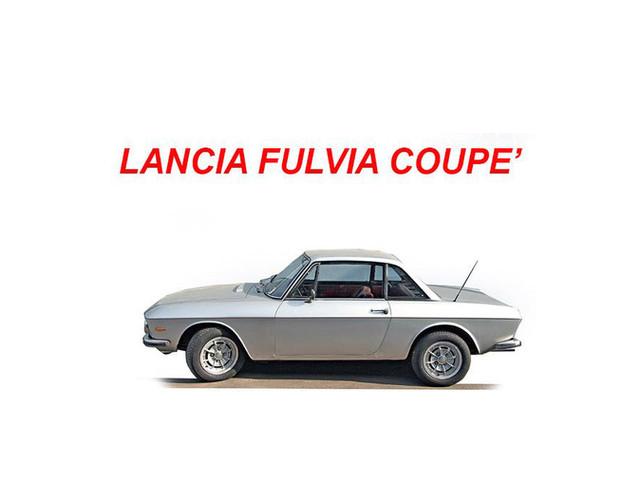 Lancia Fulvia coupè