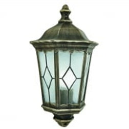 Imperial Outdoor Wall Light 'Half'