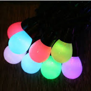 12W 230V LED String Light with Random Colour Change