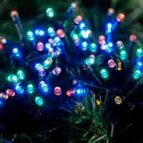 100 Multi Action LED Festive Lights