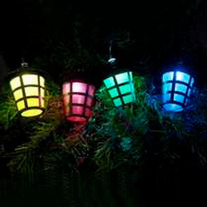 Festive LED Outdoor Chasing 40 Lanterns