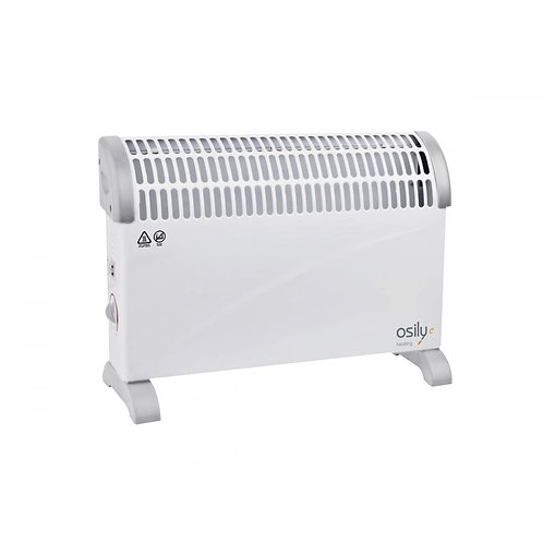 Osily Electric Convector Heater with Thermostat & Timer