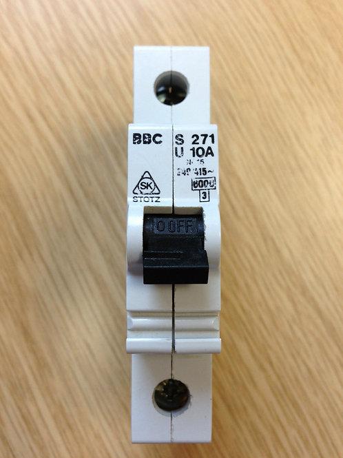 Single pole circuit breaker BBC 10A