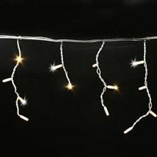 280 LED Icicle Curtain Light Warm White