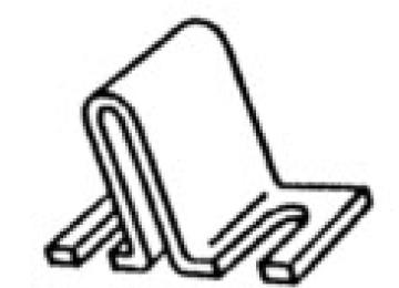 Slip On Barrier Jumper for 1500 Series - 25 Pack