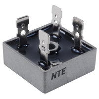 NTE5327 Bridge Rectifier - Full Wave Single Phase 800V 25A 3-Way Terminals