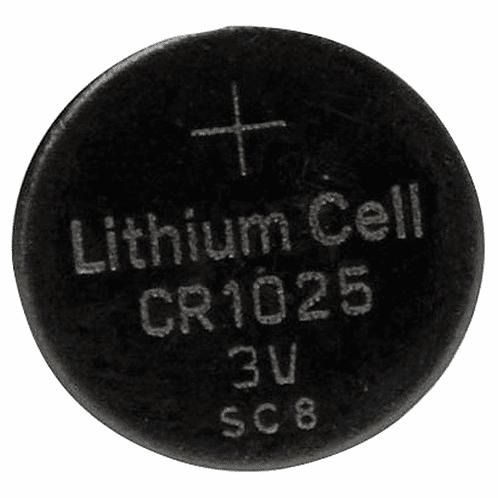 CR1025 3V Lithium Battery
