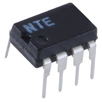 NTE858M IC Dual, Low–Noise JFET–Input Operational Amplifier