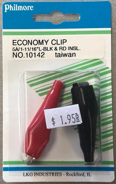 Economy Battery Clip Set - 5 Amp