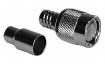TNC Male - 2 Piece Crimp - RG59/U & RG62U