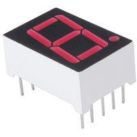 "NTE3079 0.56"" Single Digit Numeric Display Seven Segment, RHDP,"