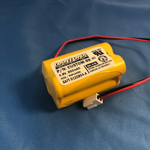 0120894-A Replacement Battery CUSTOM-59