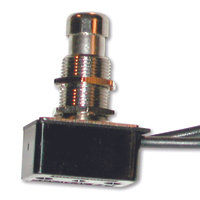 SPST - Metal Plunger - Wire Leads - 10A